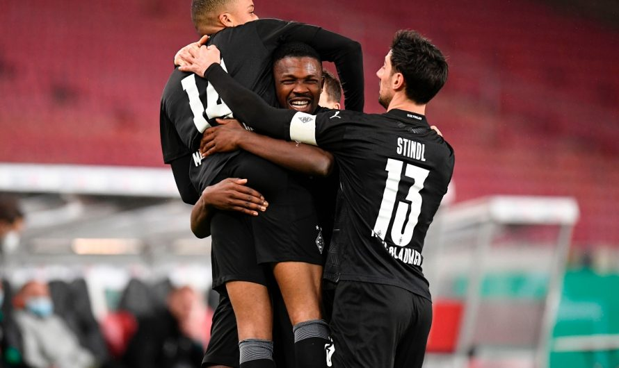 2:1 in Stuttgart! Borussia zieht ins Pokalviertelfinale ein