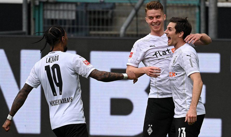 4:0! Borussia schlägt Frankfurt klar und deutlich