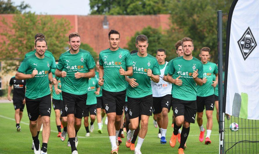 Trainingsauftakt am 3. Juli – Trainingslager in Marienfeld